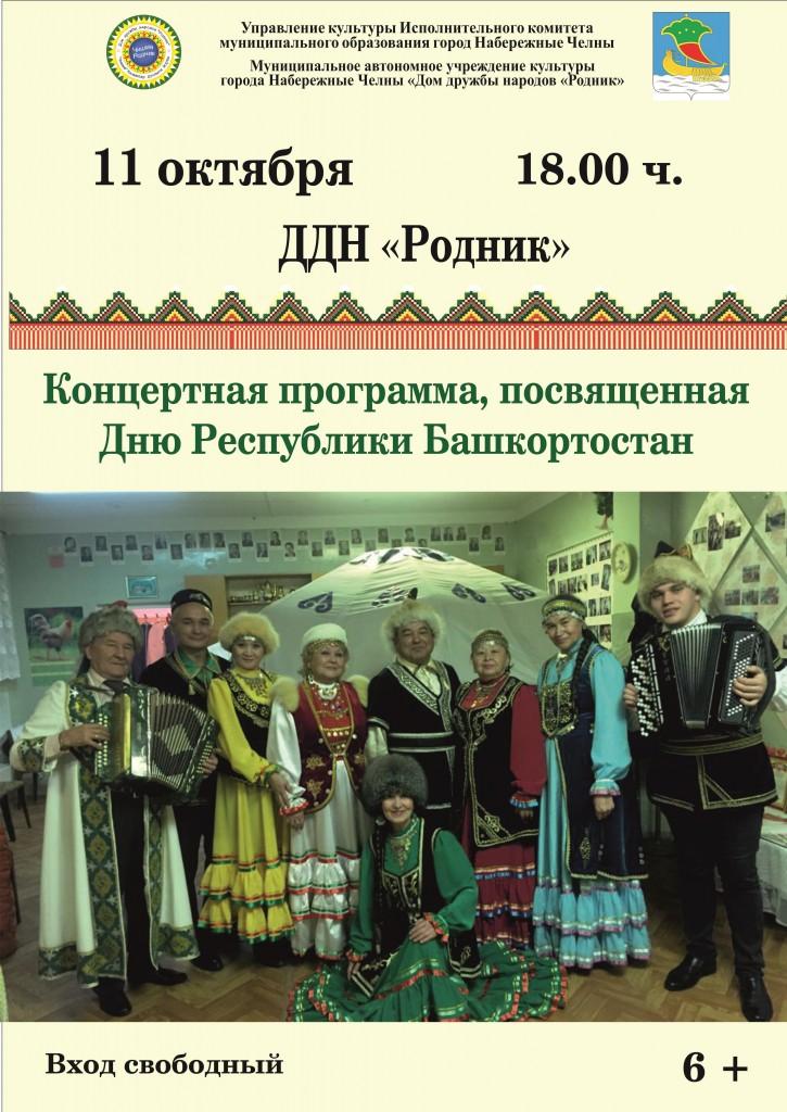 Афиша - День Р. Башкортостна - Одобрено!